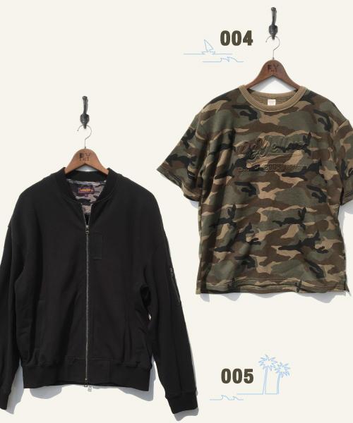 Tシャツ&ブルゾン